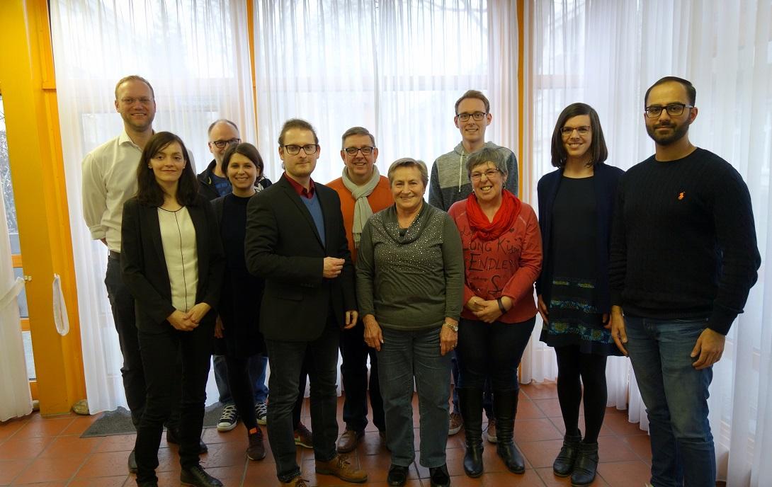 Vorstand, SPD Gallus, Ortsverein, Clemens Schubert, Anna Pause, Arne Knudt