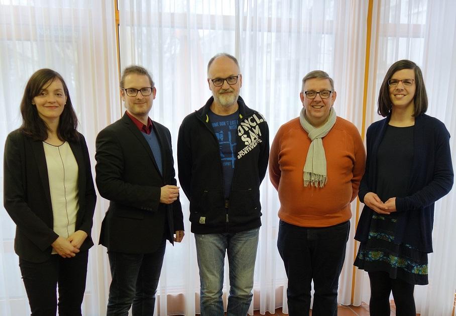 Vorstand, SPD Gallus, Ortsverein, SPD Ortsverein, Clemens Schubert, Anna Pause, Arne Knudt, Ulrich Zinsius, Mira Sievers