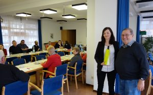 Willi Wegner, Anna Pause, SPD Gallus, Ortsverein, Vorstand